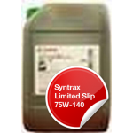 CASTROL SYNTRAX LIMITED SLIP 75W-140 20 Liter
