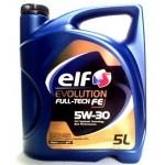 ELF EVOL FULLTECH FE 5W-30 5 Liter