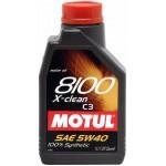 Motul 8100 X-Clean 5W-40 1 Liter