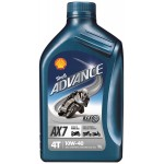 SHELL ADVANCE 4T AX7 10W-40 (1 L)