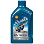 SHELL ADVANCE 4T AX7 15W-50 (1 L)