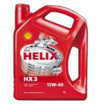 SHELL HELIX HX3 15W-40 (4 L)