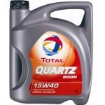 TOTAL QUARTZ 5000 15W-40 5 Liter